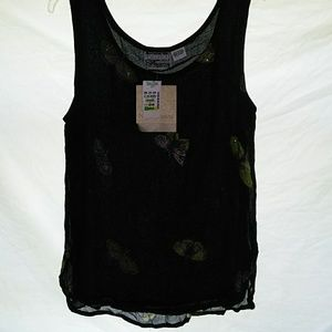 Tops - New Options by Kate Geddes butterfly Tanktop